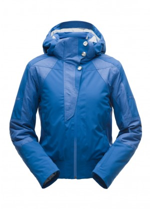 Spyder Womens Meribel Bomber Jacket - WinterWomen.com