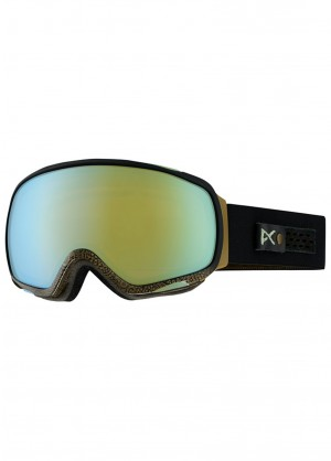 Anon Tempest Goggle (Royal/Gold Chrome)