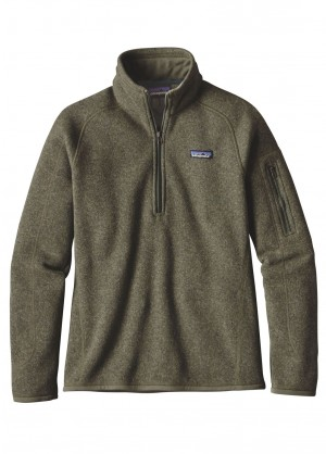 Patagonia Womens Better Sweater 1/4 Zip - WinterWomen.com