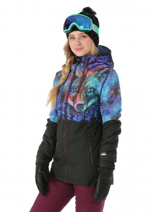 Volcom Womens Act Insulated Jacket - WinterWomen.com