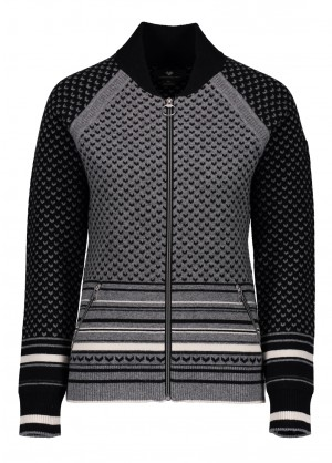 Obermeyer Womens Belletex Full-Zip Sweater - WinterWomen.com