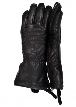Obermeyer Womens Solstice Leather Glove - WinterWomen.com