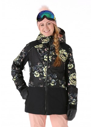 Roxy Womens Torah Bright Snowflake Jacket - WinterWomen.com