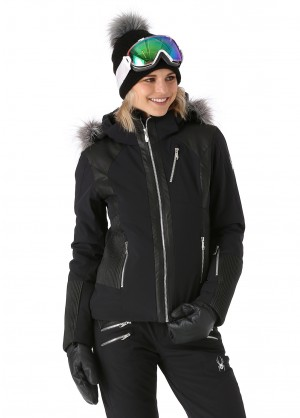 Spyder Womens Amour Faux Fur Jacket - WinterWomen.com
