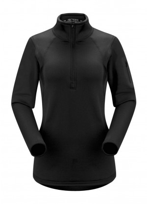 Arcteryx Womens Rho AR Zip Neck - WinterWomen.com