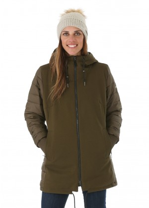 Columbia Womens Boundary Bay Hybrid Jacket - WinterWomen.com
