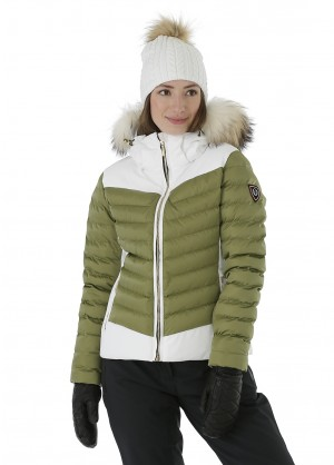 Sunice Womens Layla Jacket With Real Fur - WinterWomen.com